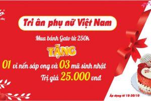 Origato ưu đãi lớn tri ân phái đẹp Việt