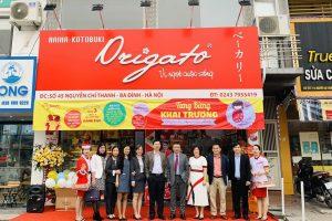 Chính thức khai trương cửa hàng Origato 45 Nguyễn Chí Thanh